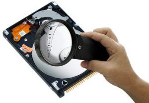 Controle harddisk
